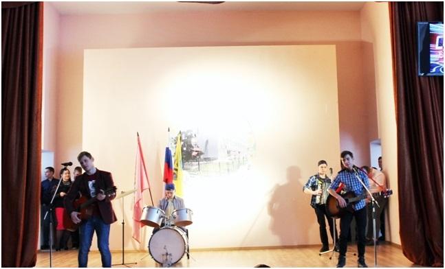 Шоу «Один в один». гр. ТПС-1-84