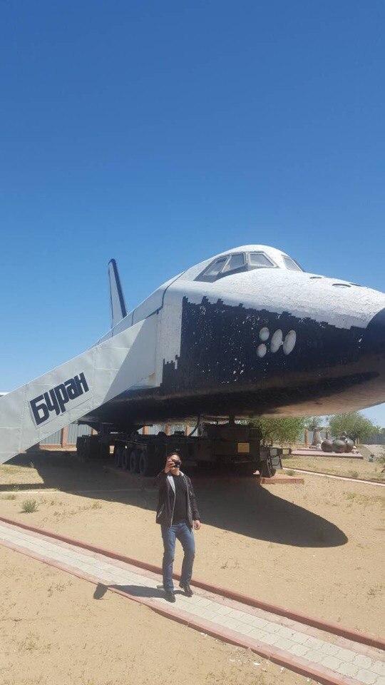 Посещение космодрома «Байконур»