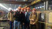 Посещение Локомотиворемонтного завода города Оренбурга