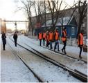 Представители Путевой машинной станции №16
