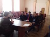 Собрание с представителями ОАО «РЖД», Путевой машинной станции №16