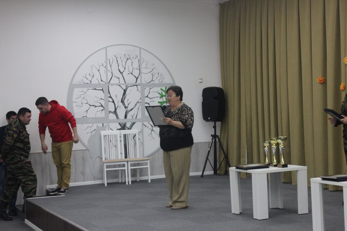 Торжественное открытие музея Боевой славы