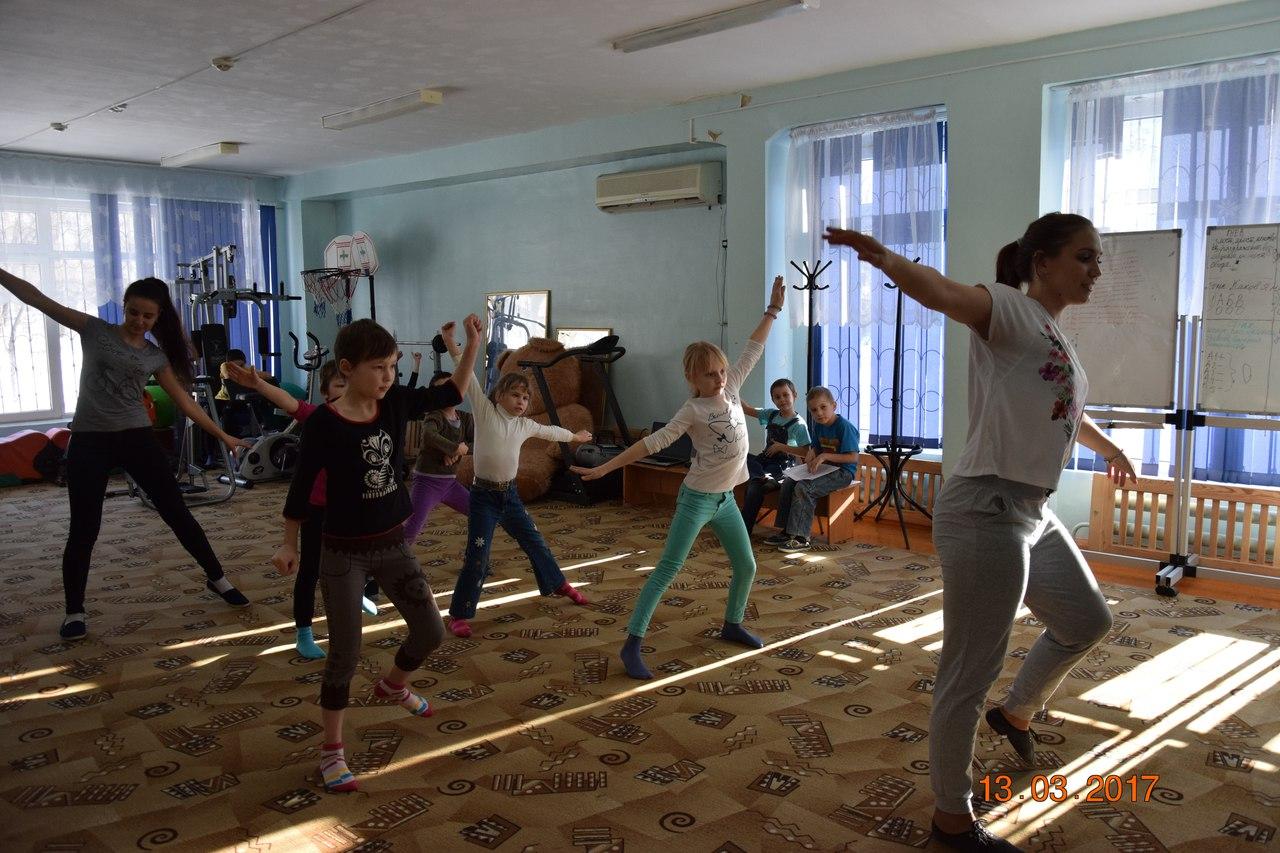 Волонтёры ОрИПС в «Социально-реабилитационном центре для несовершеннолетних «Гармония»