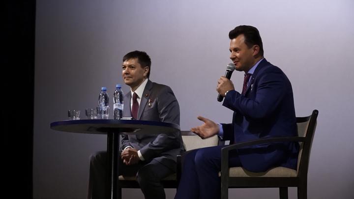 Встреча с космонавтами