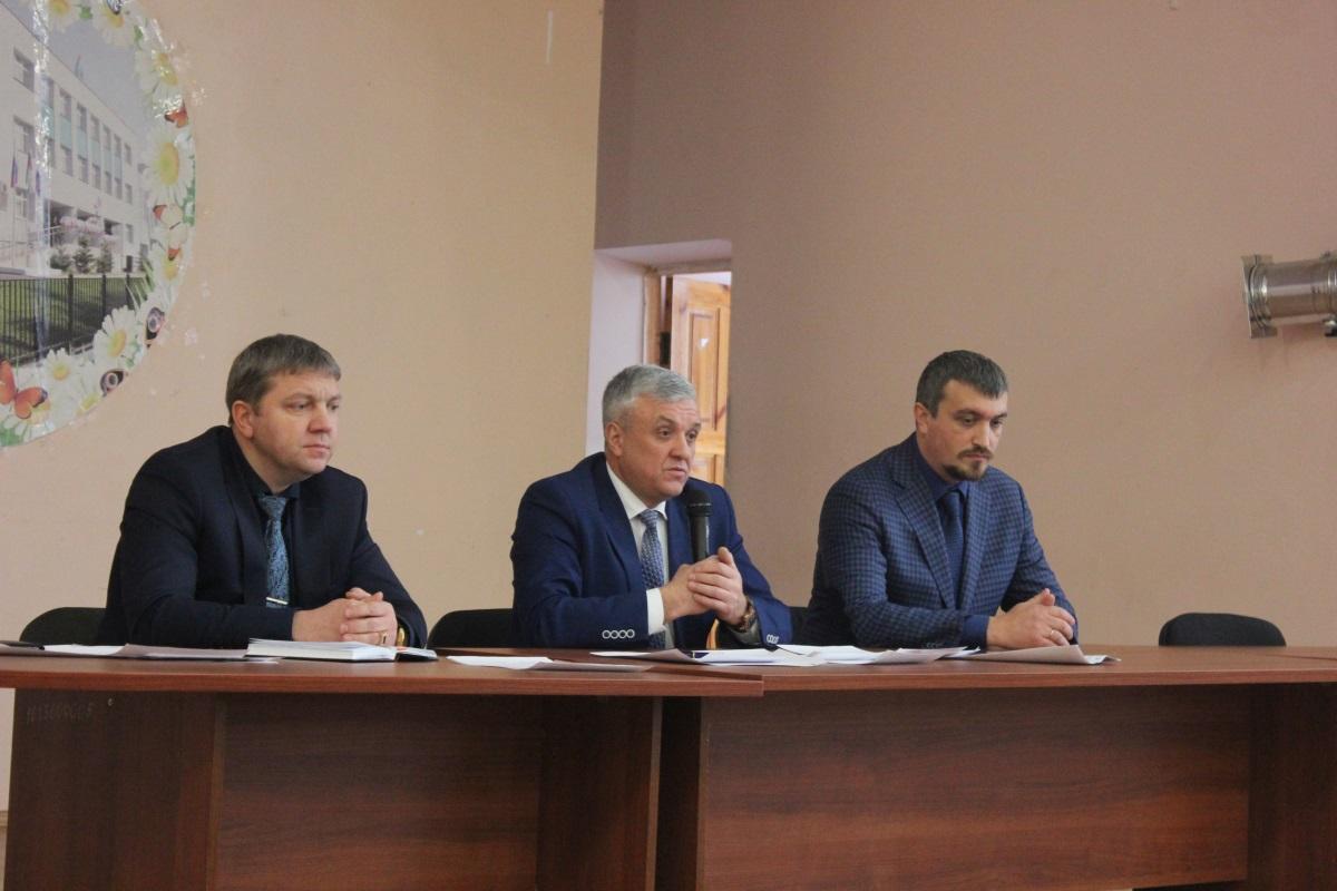 Встреча с руководством Оренбургского отделения ЮУЖД