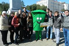 Экологическая акция «Чистые берега Урала»