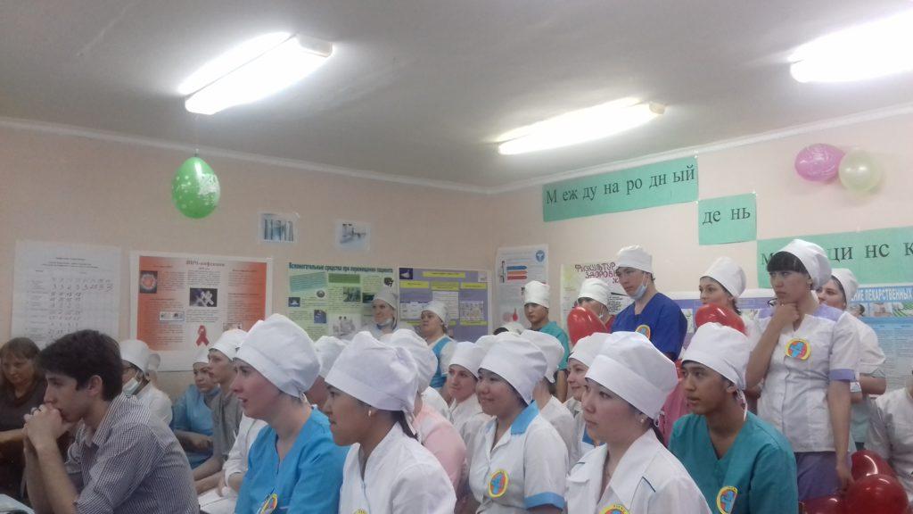 Профессиональный конкурс, посвященный Международному дню Медицинской сестры