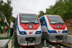 Детская железная дорога начинает свою работу