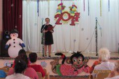 """Новогодний концерт в Геронтологическом центре """"Долголетие"""""""
