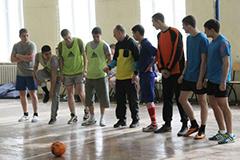 Соревнования по мини-футболу среди железнодорожников