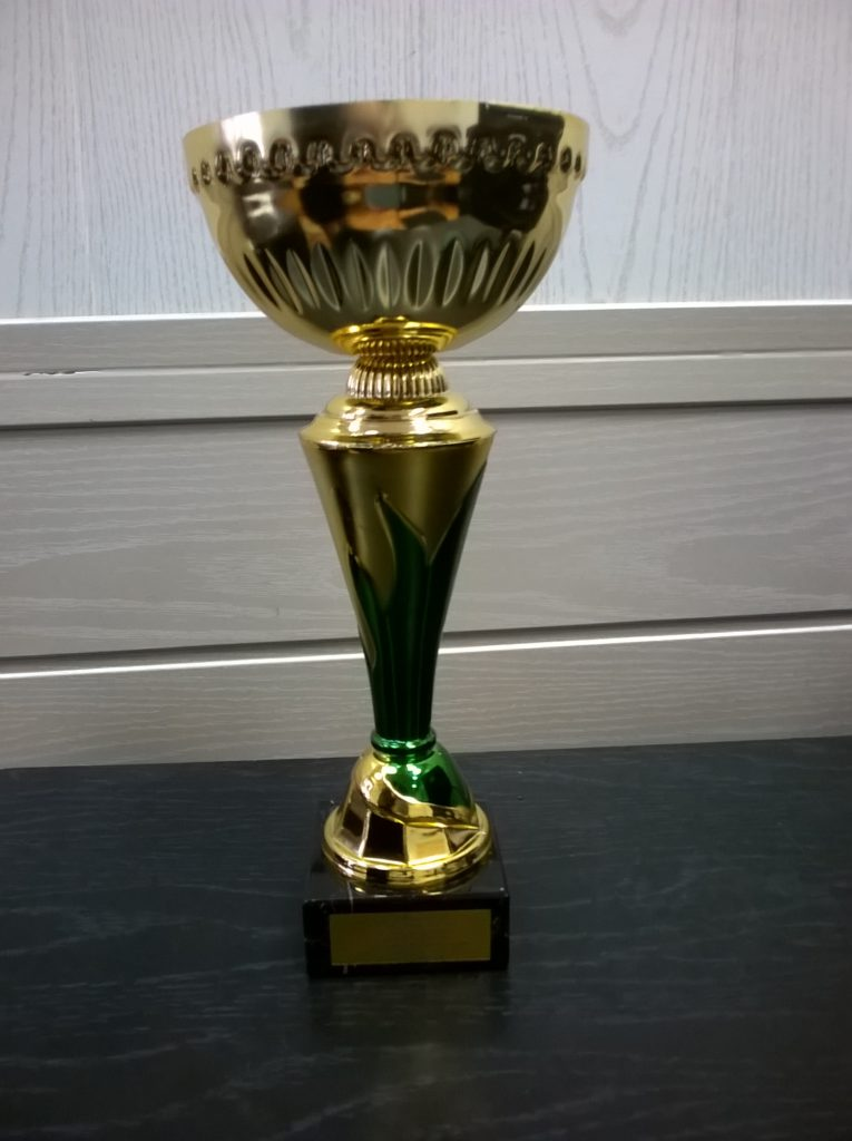 II место в легкоатлетической эстафете среди команд СПО
