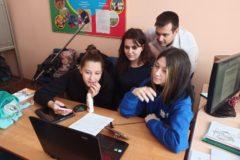 Волонтёрский отряд ОТЖТ провёл онлайн-встречу с воспитанниками школы-интерната