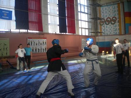 Первенство Оренбургской области по «Универсальному бою» среди юниоров