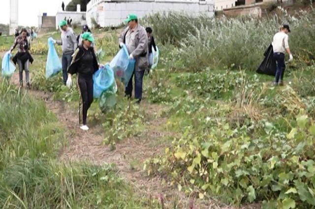 Акция «Нашим рекам – чистые берега!»