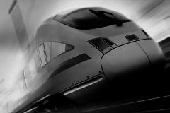 Логотип ОрИПС с локомотивом