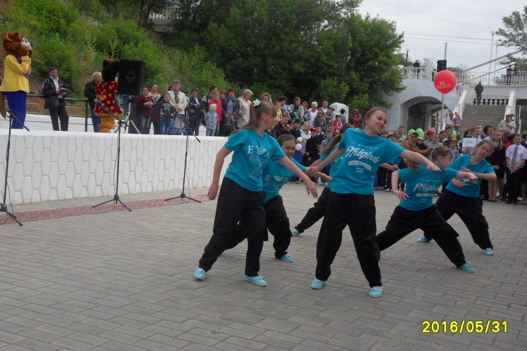 Открытие Оренбургской детской железной дороги