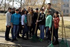 Экологическая акция «Парк – территория заботы – 2015»