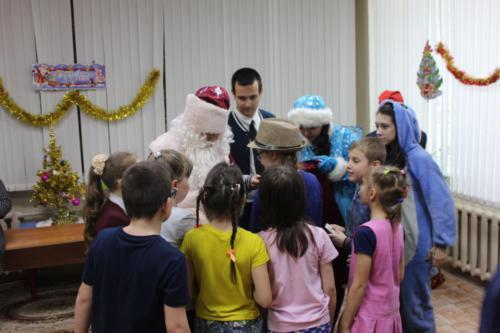 Поздравления с наступающим новым годом ребят из школы-интерната №2 для слепых и слабовидящих детей