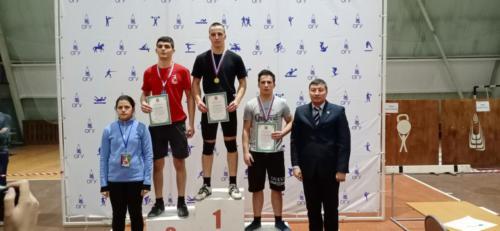Первенство Оренбургской области по гиревому спорту среди юношей и девушек