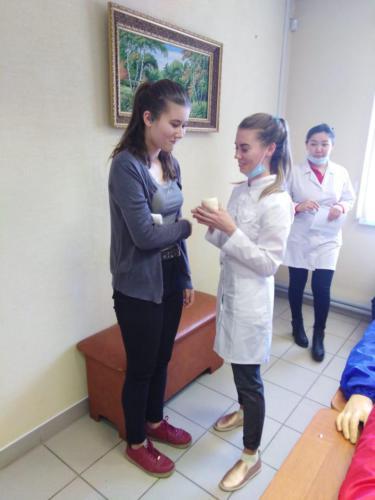 Мастер-класс по оказанию первой медицинской помощи