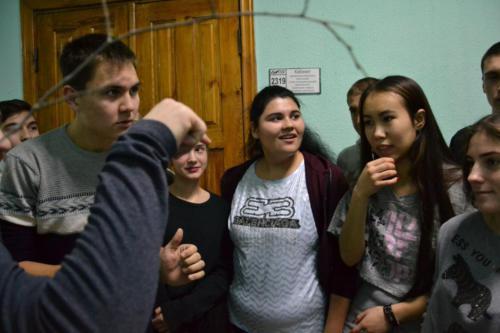 Посвящение первокурсников в студенты