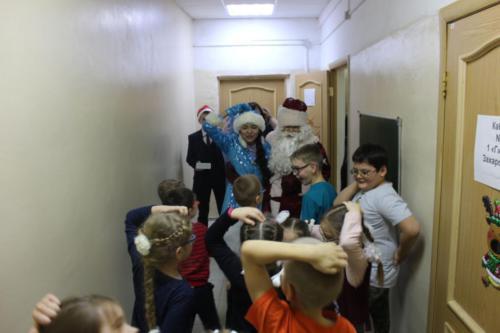 Новый год в школе-интернат №2