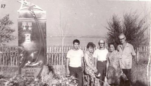 Слева-направо Нагибин, Мурзина, Березин, Горохова, Сумароков