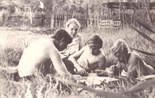 Практика в ПМС-17 1973 год