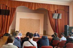 Встреча работодателей и студентов третьего курса