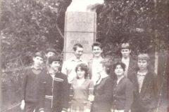 Классному руководителю Бабиной Венере Георгиевне от группы ПСМ-56