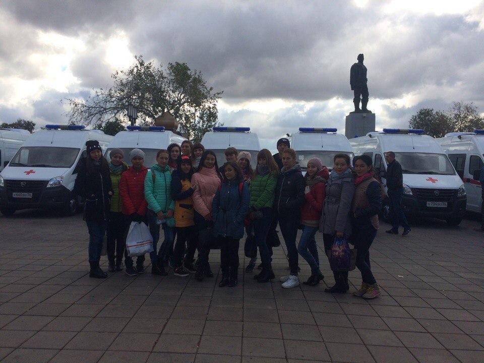 14 октября в Оренбургскую область поступила партия машин скорой медицинской помощи