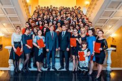 Церемония награждения «Студент года – 2012»