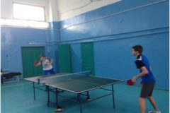 Соревнования по настольному теннису СПО ОрИПС
