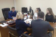 Встреча студентов с транспортным прокурором