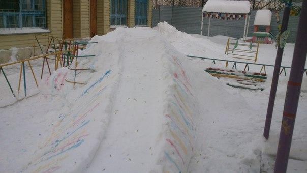 Волонтёрская помощь в дни снегопада