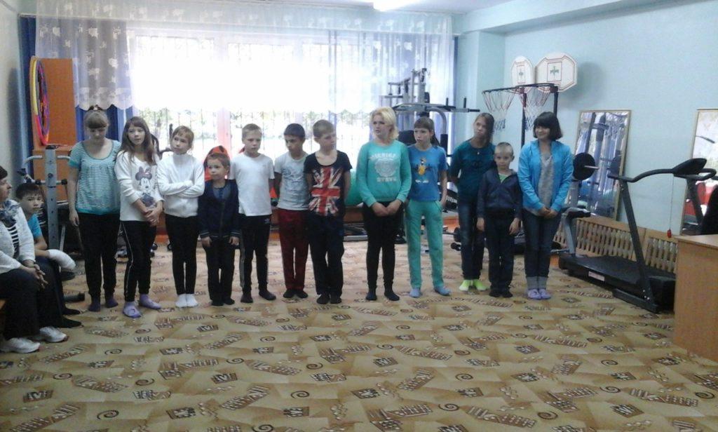 Волонтёры в социально-реабилитационном центре для несовершеннолетних «Гармония»