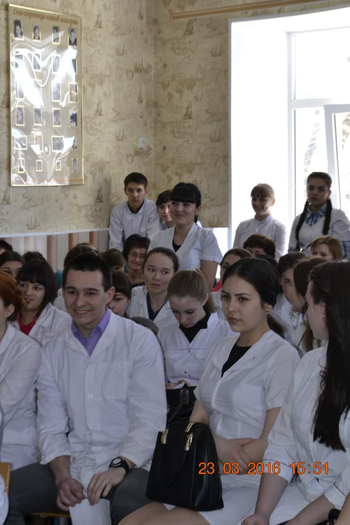 Встреча студентов, преподавателей и сотрудников с руководством ОрИПС